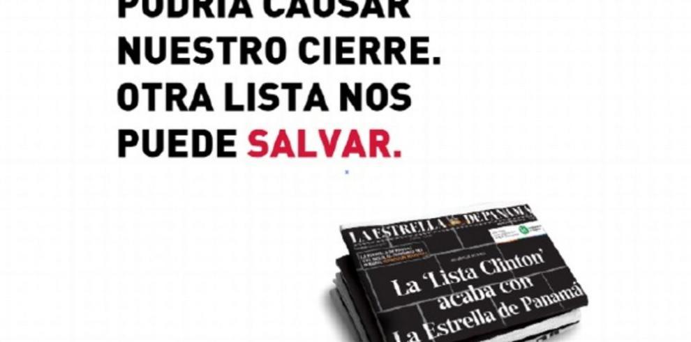 Lanzan campaña la 'Lista que nos puede salvar'