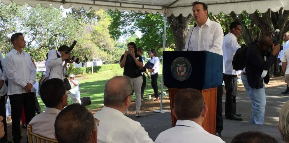 Varela objeta parcialmente el proyecto de ley 92