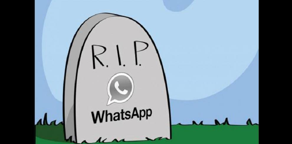 Caída de WhatsApp en memes