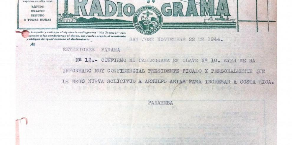 Cuando el presidente De la Guardia tildó a Arias Madrid de 'enemigo público'