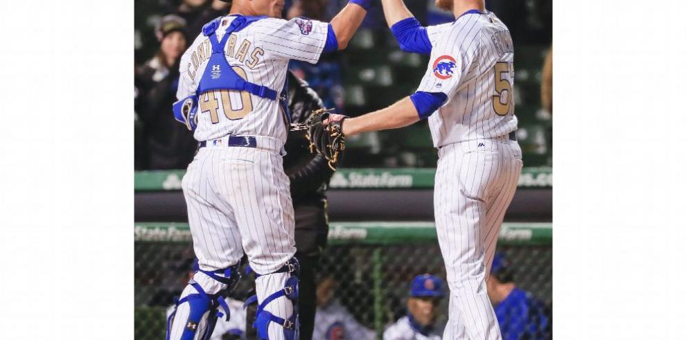 Contreras se luce con grand slam en triunfo de Chicago