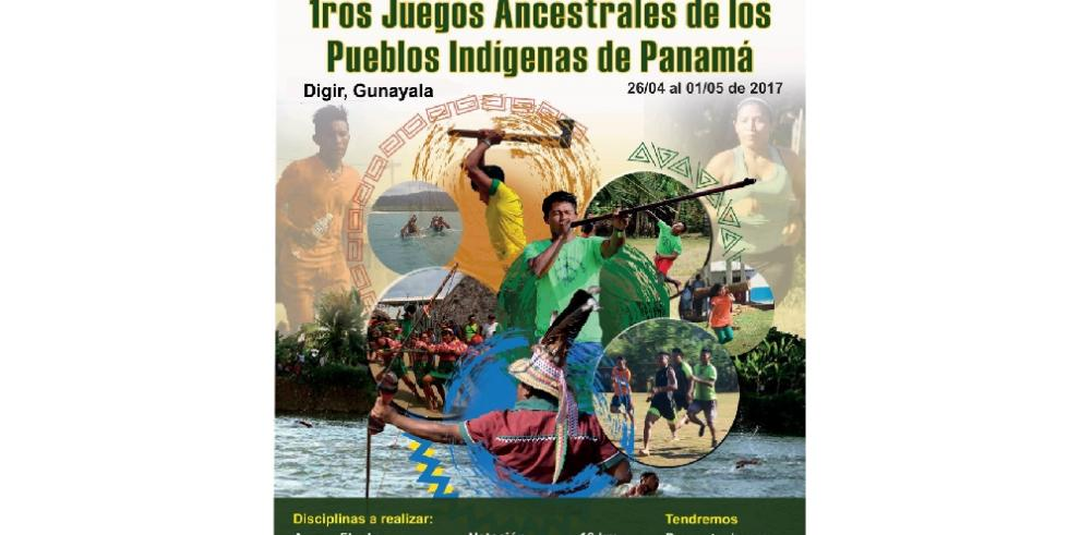 Panamá tendrá sus primeros juegos ancestrales indígenas