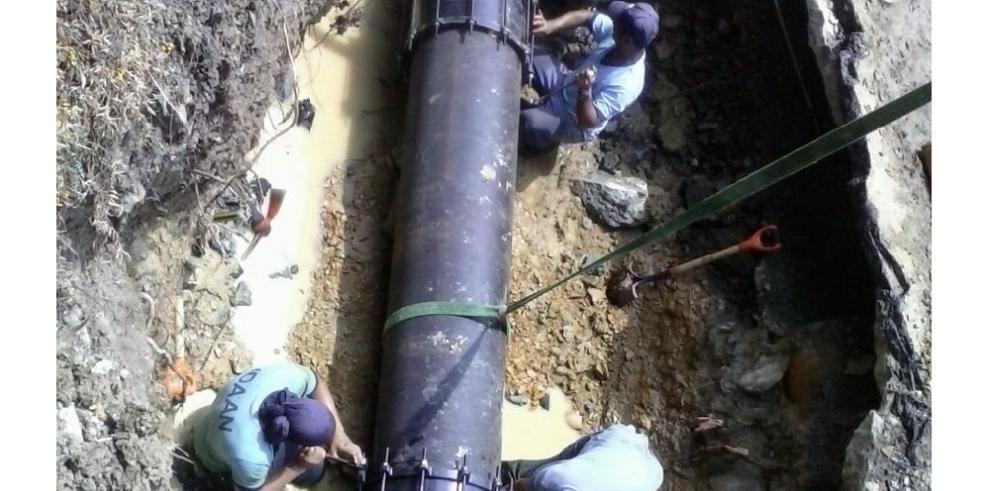Trabajos de interconexión afectará el suministro de agua potable en Colón