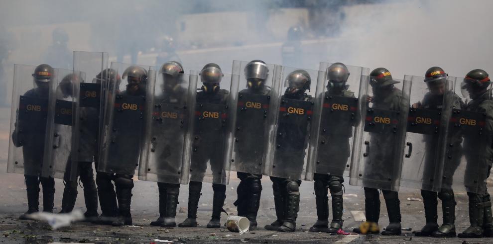 Más de 170 detenidos en el paro general convocado por la oposición venezolana
