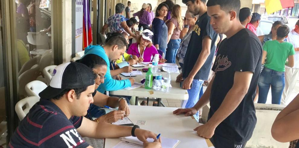 Panameñistas logran inscripción de 33 mil nuevos adherentes