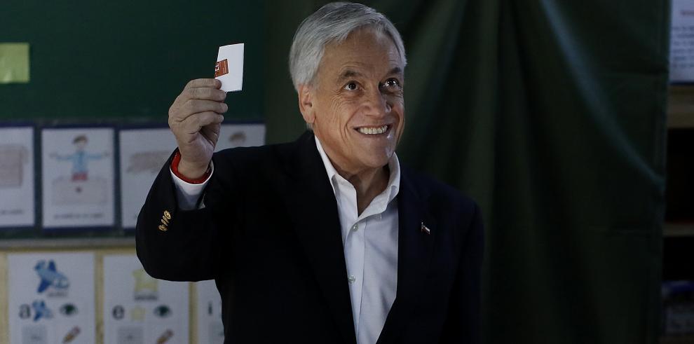 Piñera vivió un momento incómodo durante las primarias en Chile
