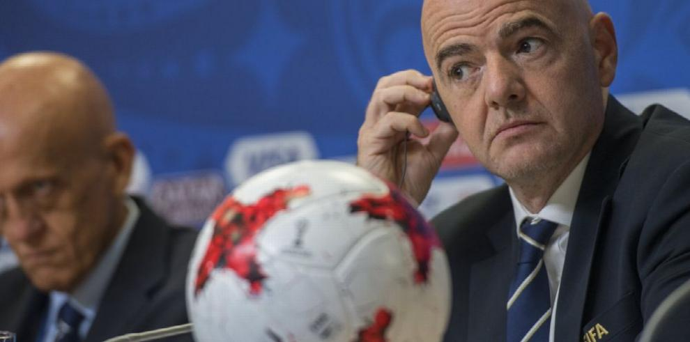 Gianni Infantino califica de éxito la Copa Confederaciones