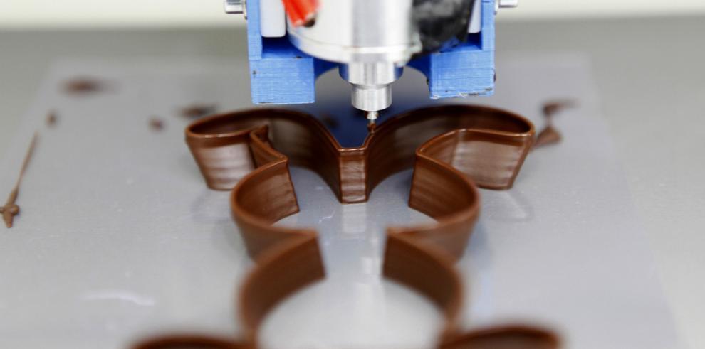 El chocolate belga se pasa al 3D
