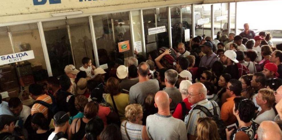 Migración aclara rechazo de ingreso para venezolanos en Paso Canoas