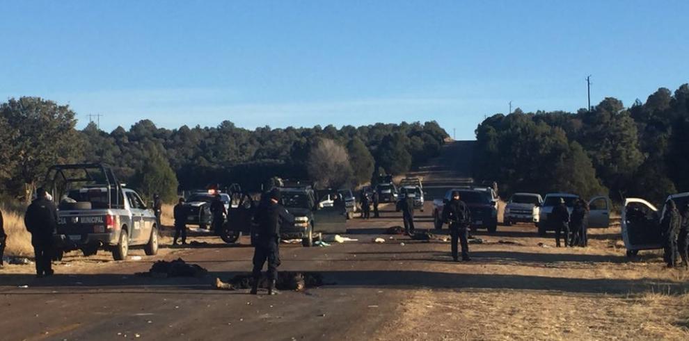 Al menos 17 muertos en hechos violentos en el estado mexicano de Chihuahua