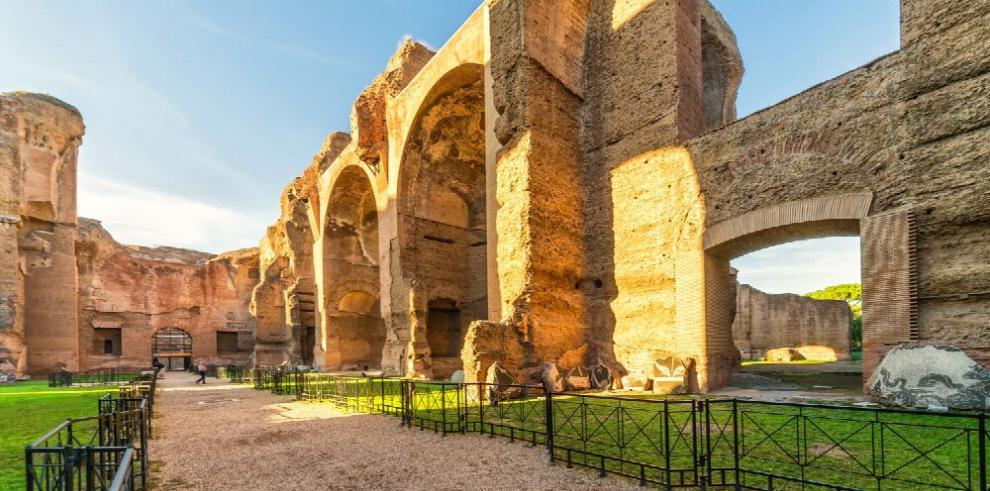 La tercera dimensión recrea las termas de Caracalla del siglo III