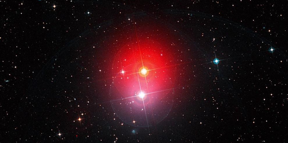 Científicos captan detalles sin precedentes de una estrella gigante roja