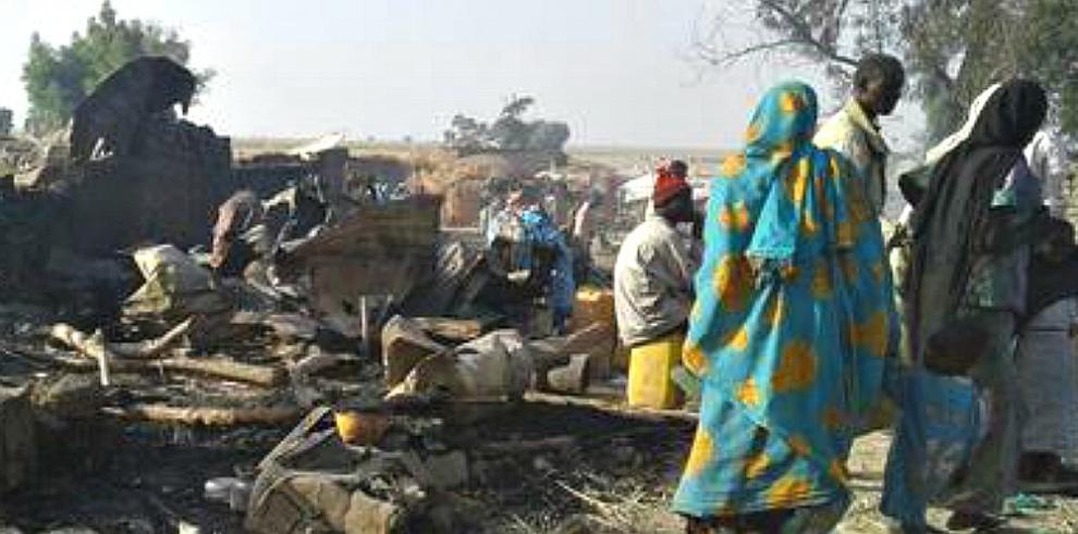 Avión de ejército de Nigeria ataca por error campamento de refugiados