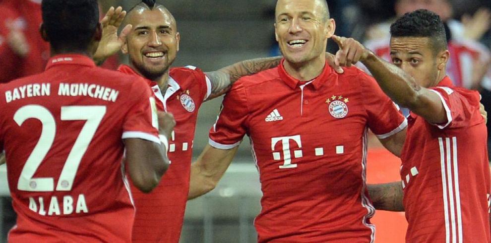Robben, a punto de renovar su contrato con Bayern Múnich