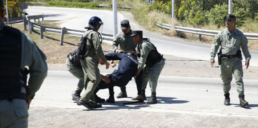 Heridos y arrestos en protesta de productores