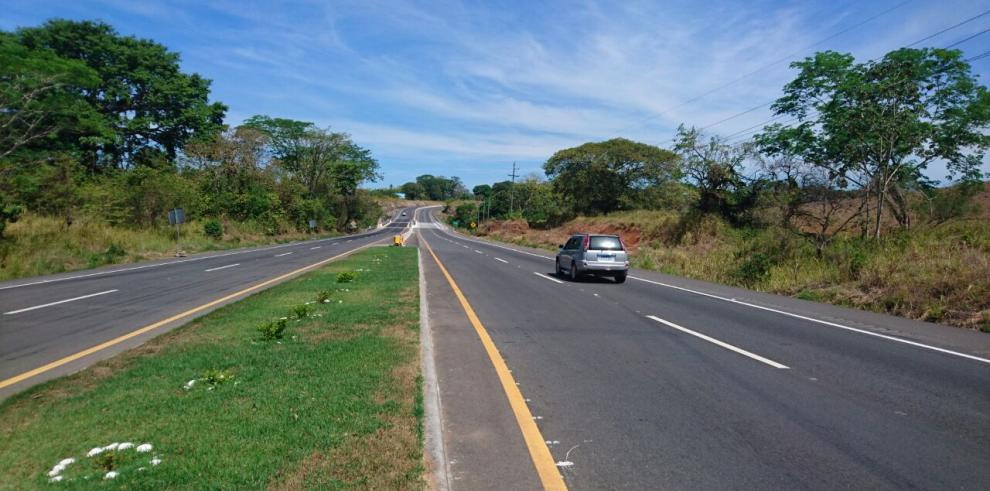MOP abre al tránsito vehicular Tramo 2 de la vía Santiago-David