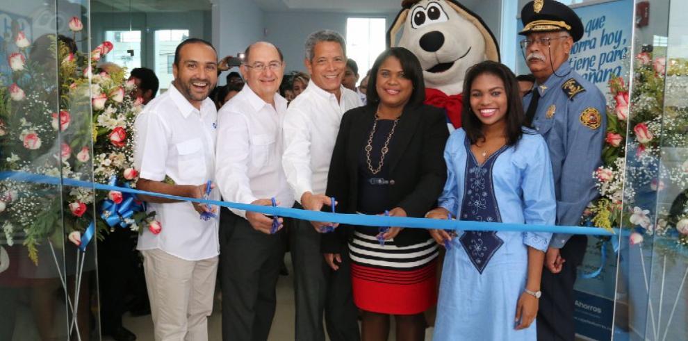 Caja de Ahorros inaugura sucursal en Changuinola