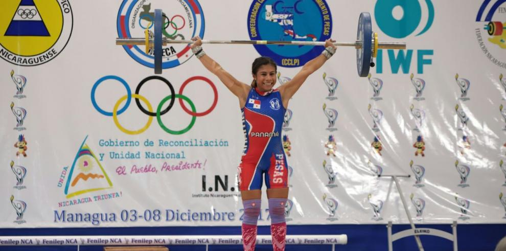 Erika Ortega gana tres medallas de plata para Panamá