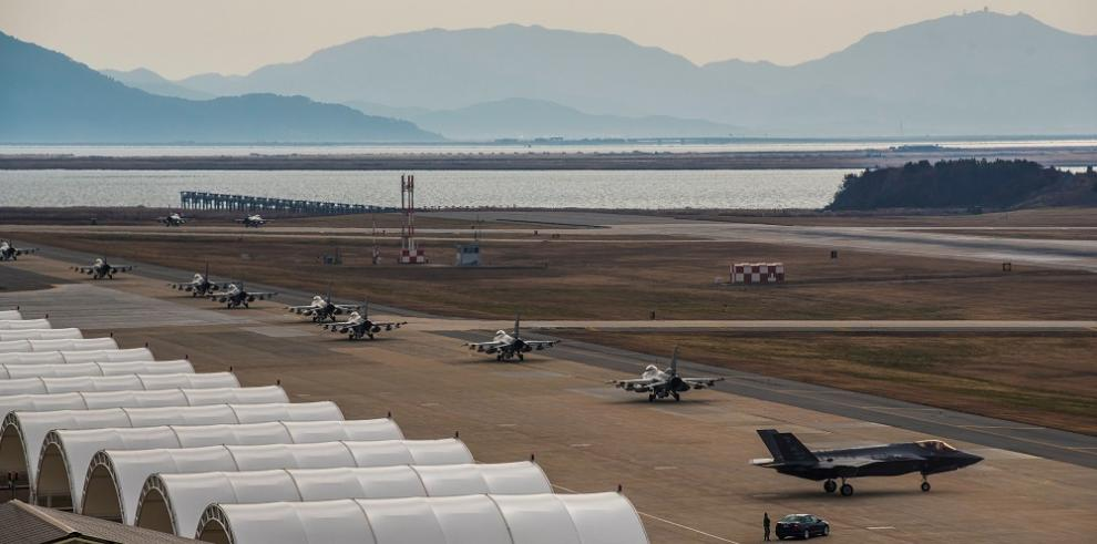 Washington y Seúl replican al misil norcoreano con un despliegue aéreo masivo