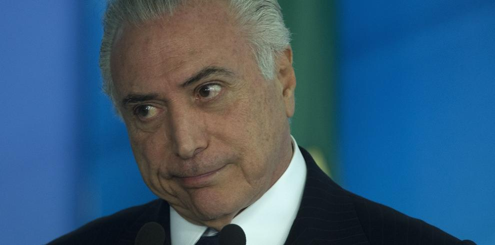 Denuncian al presidente de Brasil por corrupción ante la Corte Suprema