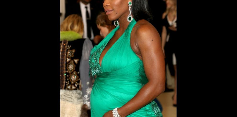 ¿Cómo reaccionó Serena Williams al enterarse de que estaba embarazada?