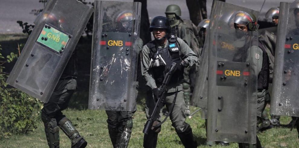 CIDH condena 'operativos de represión' de fuerzas de seguridad en Venezuela
