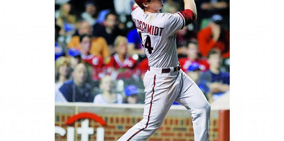 Goldschmidt se sacude los malos días con los D'Backs