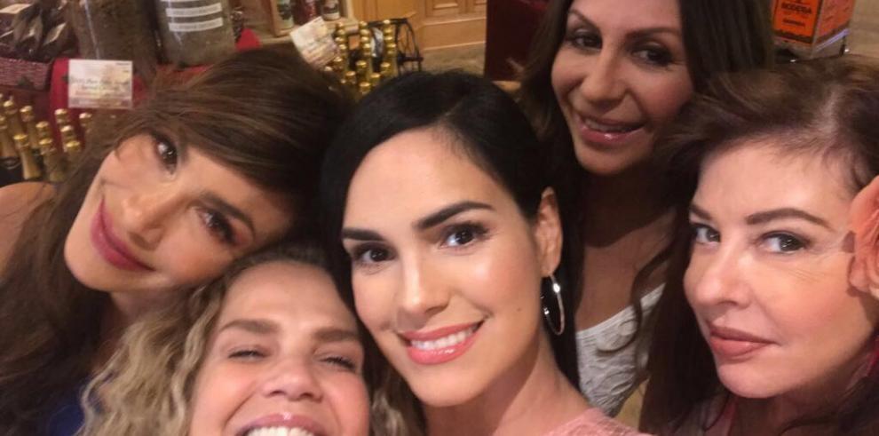 La panameña Patricia De León en el reality 'Rica Famosa Latina'