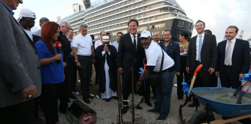 Se inicia la construcción del primer proyecto de Colón Puerto Libre