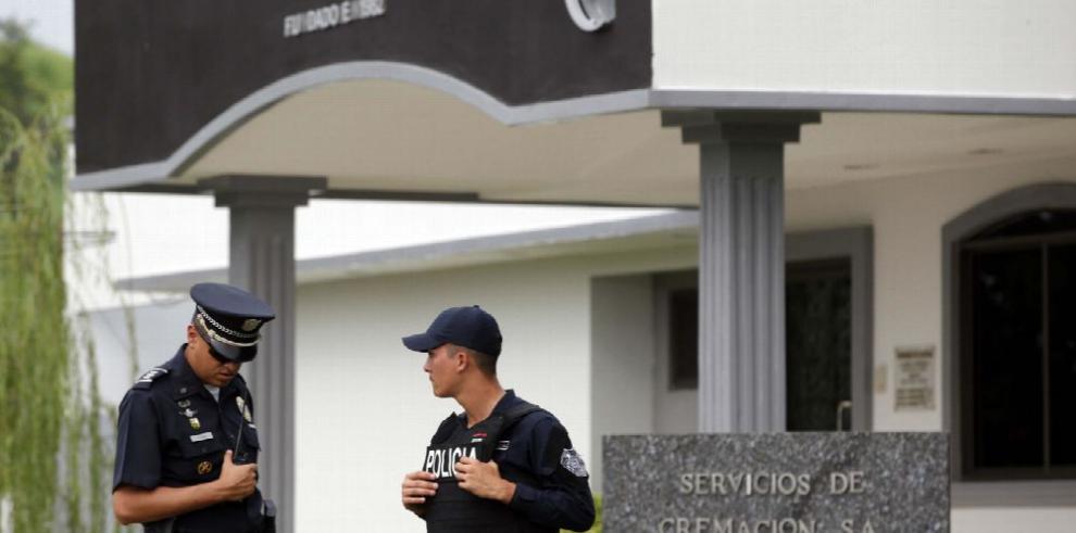 Familiares y amigos despiden a Manuel Antonio Noriega