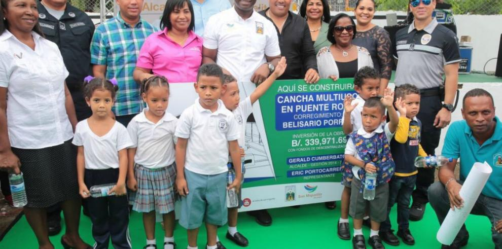 San Miguelito tendrá moderna cancha de futsal en Samaria