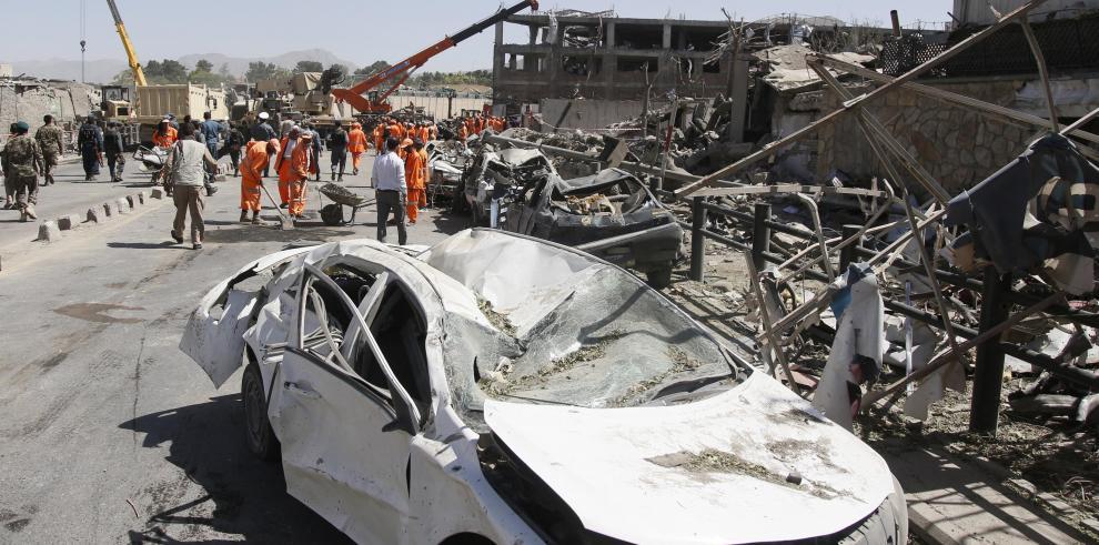 El Gobierno afgano eleva a 463 los heridos en el ataque de Kabul Kabul