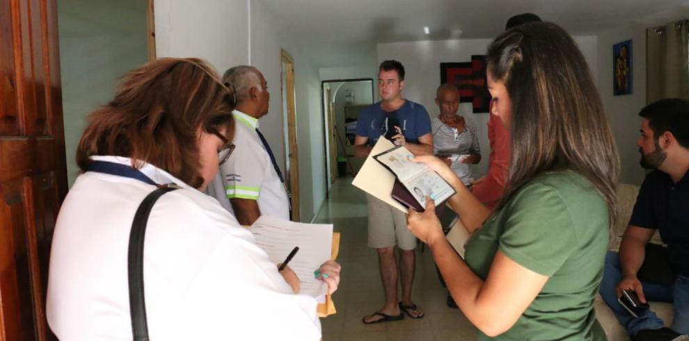 Operativo en barriada Chanis para detectar hospedajes clandestinos
