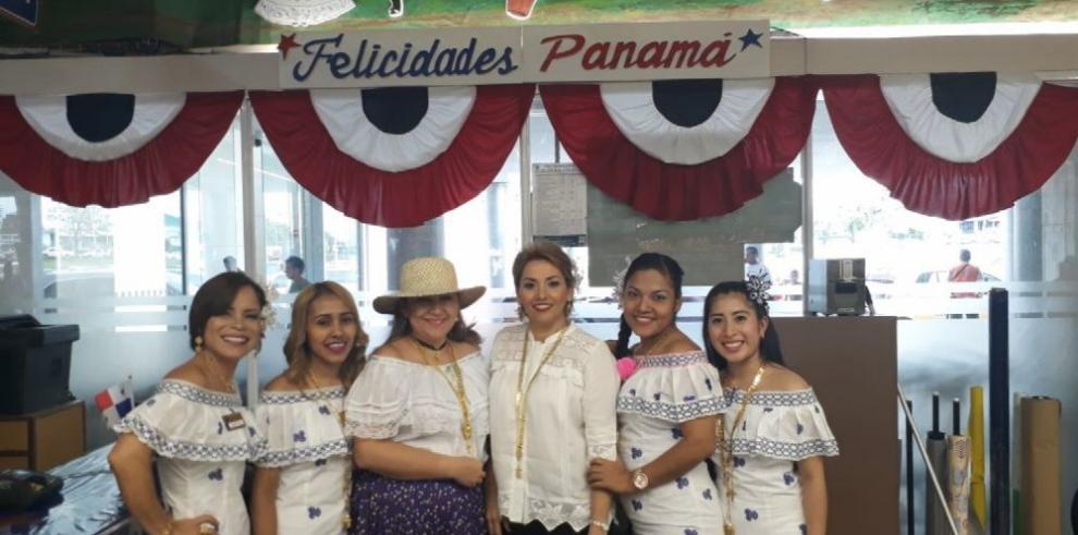 Con todo el orgullo de ser panameños