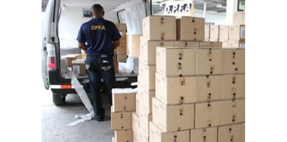 Aduanas decomisó más de $724 mil en mercancías durante operativo navideño