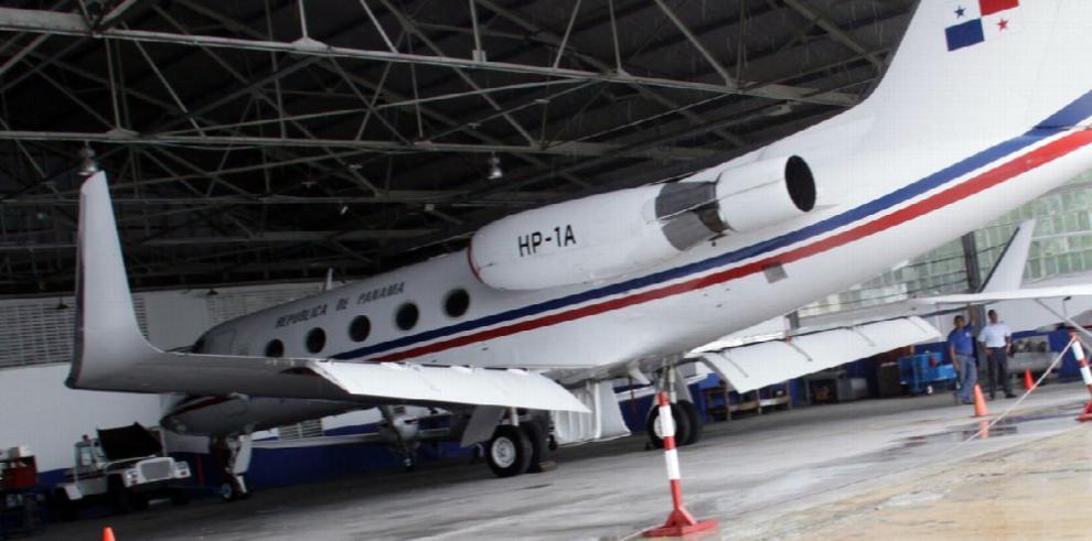 Adenda por $1.9 millones para el avión presidencial