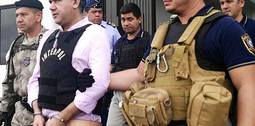 Recluyen en cárcel de máxima seguridad en Brasil narco que Paraguay extraditó