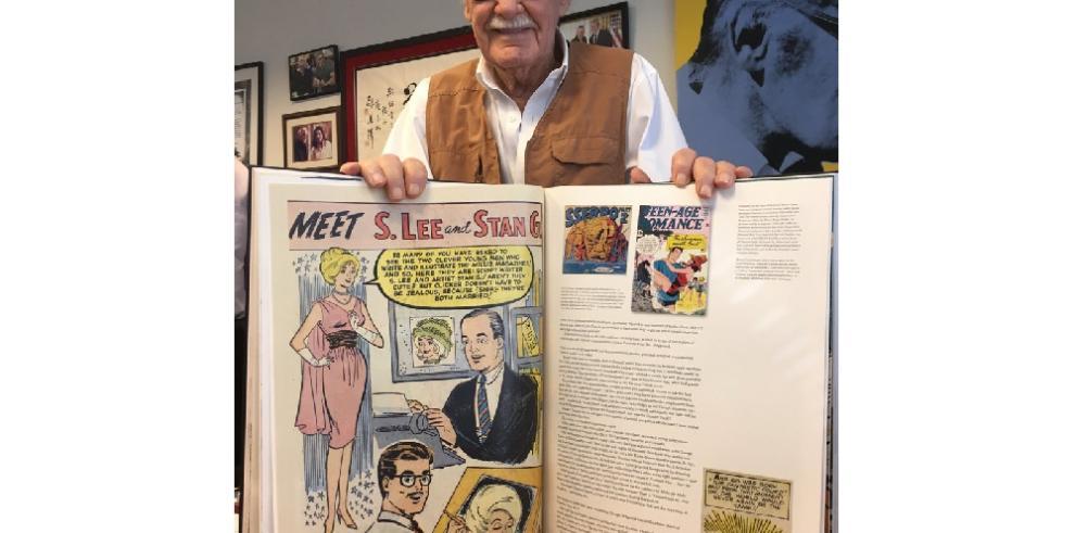 Él es Stan Lee, el padre de las estrellas de Marvel