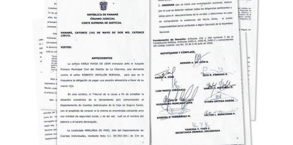 La CSJ y los contratos en la Asamblea; caso Aris De Icaza