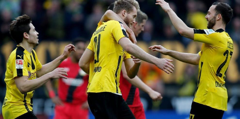 Dortmund sale por la victoria