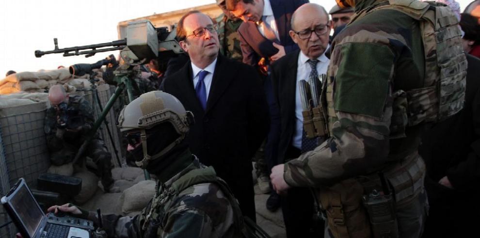 Atentados sacuden Bagdad durante la visita de Holande