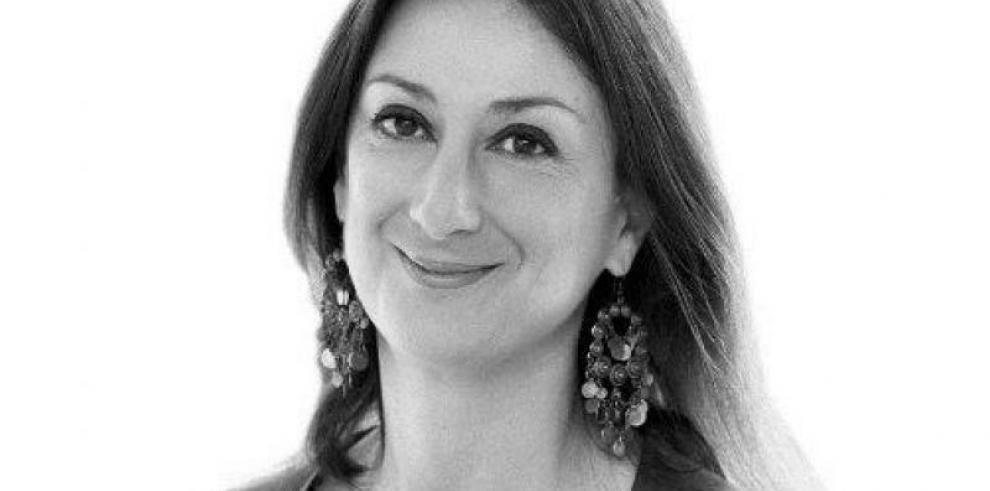 Periodista maltesa asesinada estudiaba lazos de Malta con red de contrabando