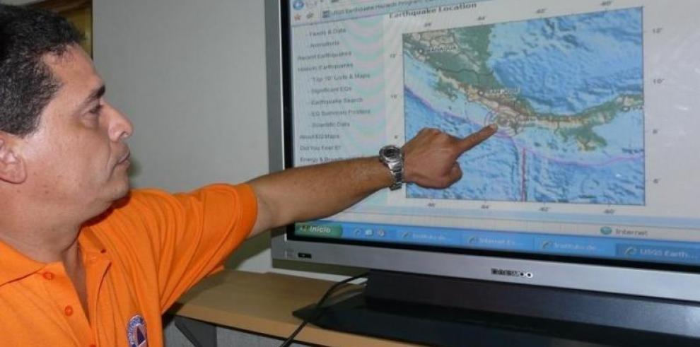 Temblores sacuden el occidente de Panamá sin víctimas ni daños