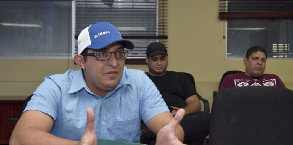 Trabajadores de la mina Cerro Quema, preocupados