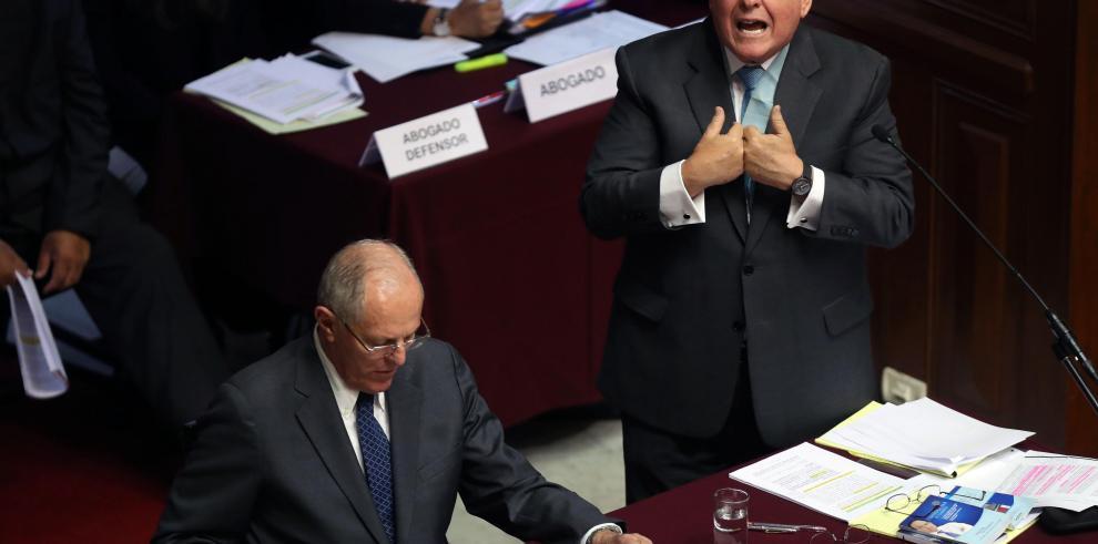 Abogado que defendió a Kuczynski ante el Congreso rechaza indulto a Fujimori