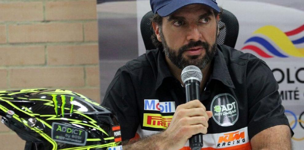 Bernal se ha trazado como meta terminar el Dakar