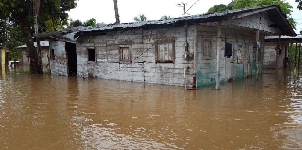 Inundaciones en Darién dejan 70 casas afectadas