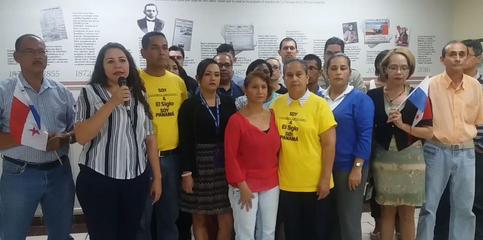 Colaboradores de GESE le envían mensaje al presidente Varela