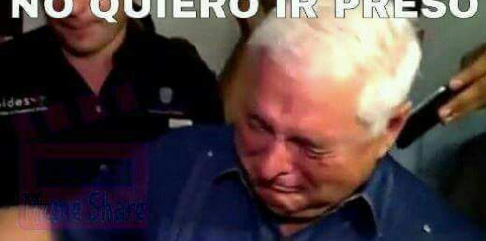 Los mejores memesde la detención del expresidente Ricardo Martinelli