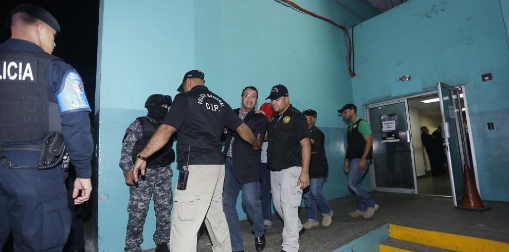 Llegan imputados por el caso El Gallero para su audiencia de apelación
